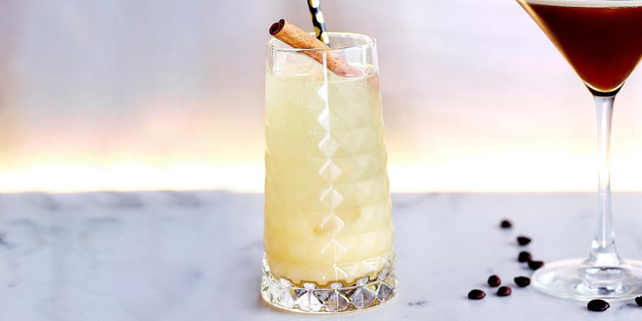 Ginger & Apple Highball Mocktail