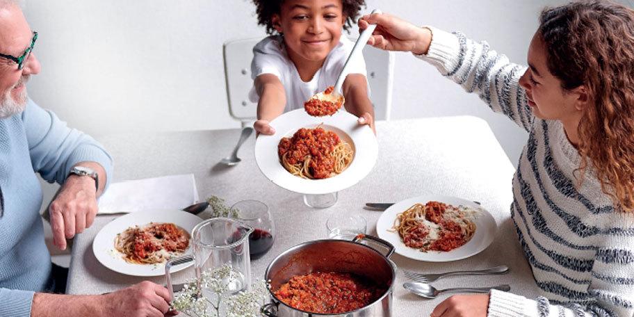 Spaghetti bolognaise aux pâtes complètes