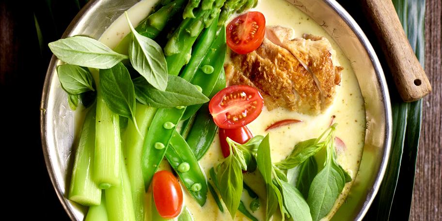 Curry vert de volaille